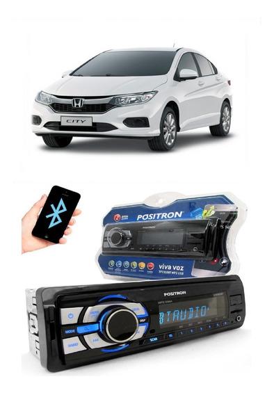 Radio Mp3 Positron Sp2310 Bt Sd Usb Viva Voz Honda Civic Tds