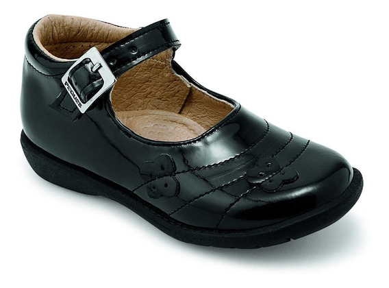 Zapato Casual Bebe Negro Charol Peques Shoes 1446