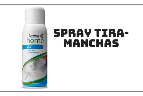 Sa8 Pré-lavagem Tira Manchas Em Spray Limpeza Imediata Amway
