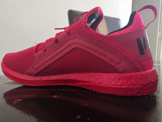 Tenis Puma Rojos/negros, Replica
