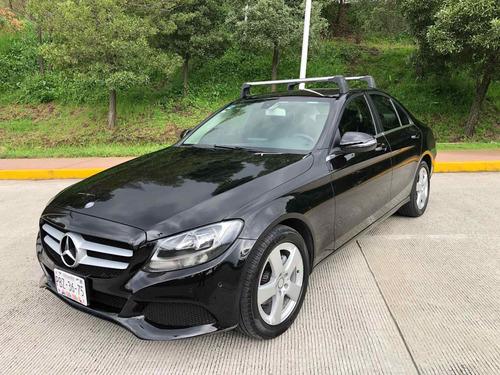 Imagen 1 de 15 de Mercedes-benz Clase C 2017 1.6 180 Cgi Mt