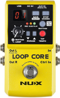 Pedal Nux Loop Core Ritmos Rc 3 Loopera True Bypass Usb