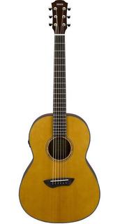 Guitarra Electroacustica Transacústica Parlor Yamaha Csf-ta