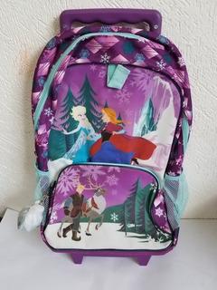 Mochila Frozen Disney Store Con Rueditas