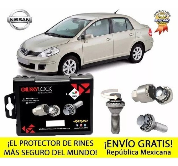 Tuercas De Seguridad Nissan Tiida Advance Gasolina 100%