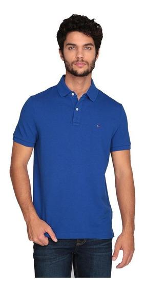 Playera Tommy Polo Azul Original Cómoda Moda Ralph Lauren