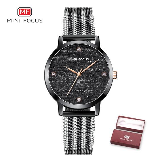 Mini Focus Mulheres Relógio De Quartzo Relógios De Moda Da
