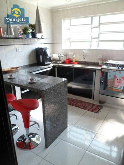 Apartamento Residencial À Venda, Centro, Santo André. - Ap8098