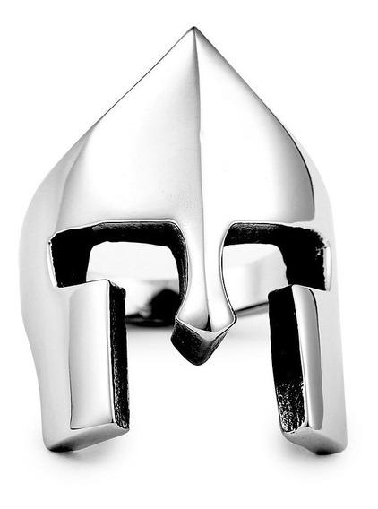Anel Titânio Masculino Gladiador Spartacus Espartano