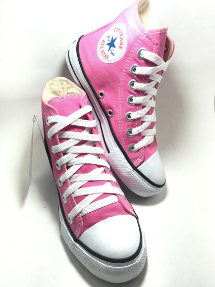Tenis Converse All Star Ct Core Hi Bota Rosa Pink