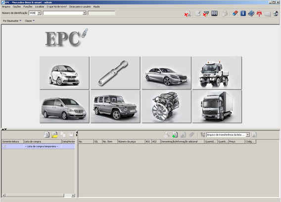 Catálogo Eletrônico Peças + Reparos Mercedes 2018 Completo