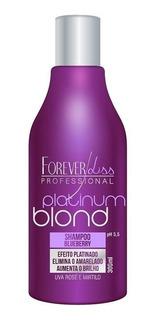 Shampoo Matizador Platinum Blond- Forever Liss - Obeleza