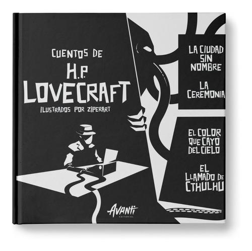 Imagen 1 de 5 de Cuentos De Hp Lovecraft Ilustrados - Avanti