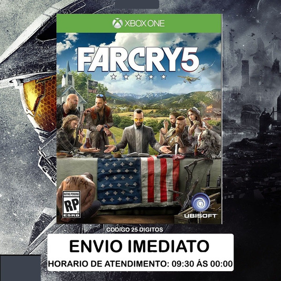 Far Cry 5 Xbox One Código 25 Dígitos