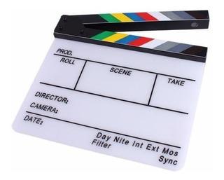 Claqueta Profesional Para Filmaciones De Cine Canon Nikon