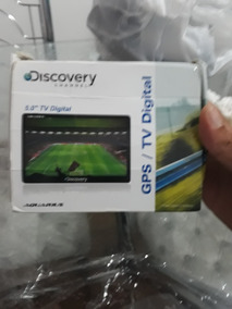 Gps/ Tv Digital .discovery Channel É Usado Mas Esta Novo.