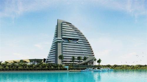 Departamento En Venta, Cancún, Shark Tower, Zona Hotelera.