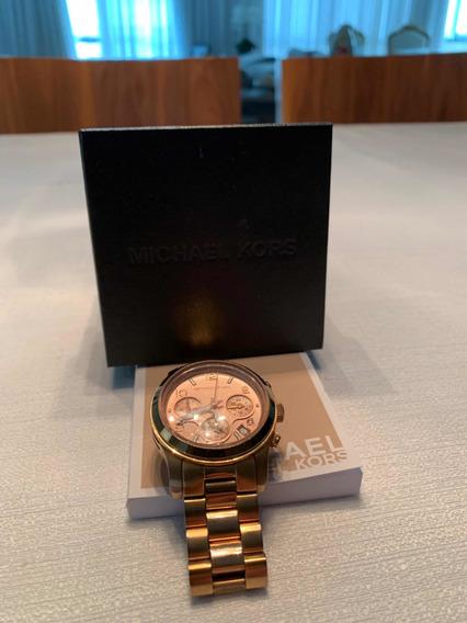 Relógio Michael Kors Mk5038 Rosé