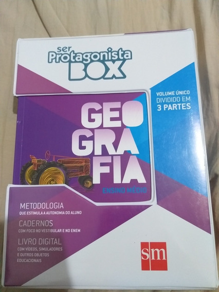 Geografia Ensino Médio (protagonista Box) Volume Único