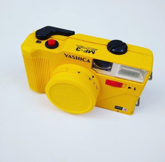 Antiga Máquina Fotográfica Yashica Mf 3 Amarela
