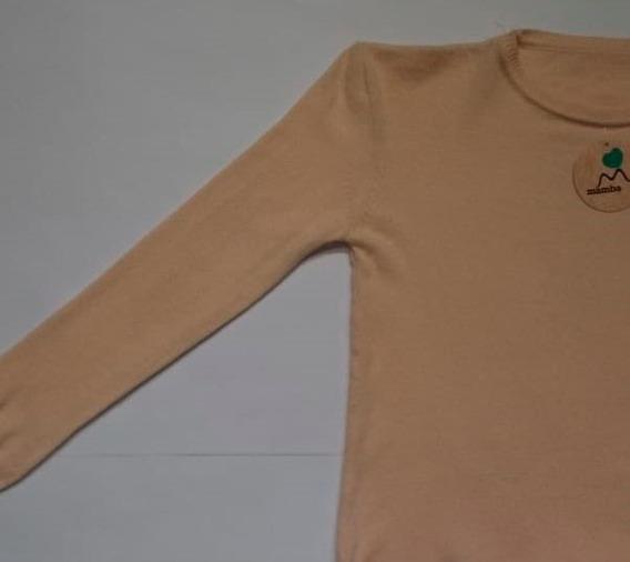 Sweater Bremer Suave Tajitos Costado Mujer Moda 509