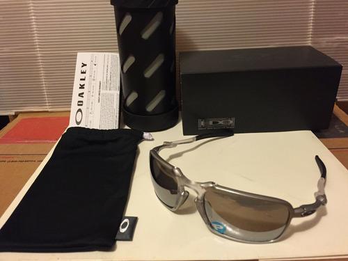 Nuevo Oakley X Metal Badman Sunglasse Ti Con Cromo Iridio...