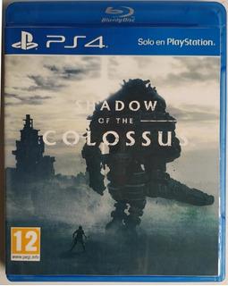 Juego Ps4 Shadow Of The Colossus Original Físico