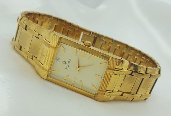 Relógio Bulova Feminino Folheado A Ouro