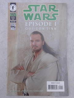 Hq Star Wars Episode 1 Qui-gon Jinn - Dark Horse Comics 1999
