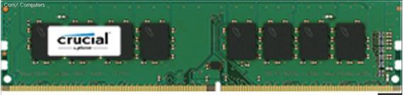 Memoria Crucial 8gb 2400mhz Ddr4 1.2v Cl17 Ct8g4dfs824a