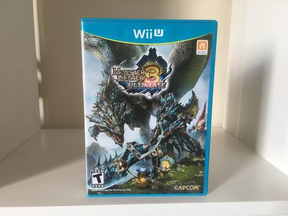 Monster Hunter 3 Ultimate - Wii U - Mídia Física