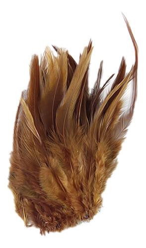 Imagen 1 de 11 de 20pcs Teñidos Del Gallo De Coque Silla De Plumas 3-5