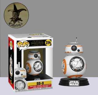 Bb8 Star Wars Funko Pop 314 Originales Collectoys