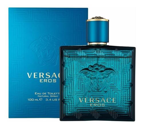 Perfume Loción Eros De Versace Para Hombre 100 Ml Original