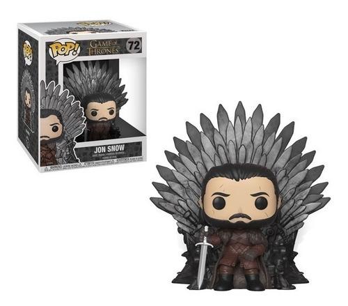 Funko Pop Jon Snow On Throne 72 6¨- Game Of Thrones
