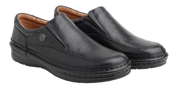 Zapato Ringo Cuero Cocido Confort Flex Nautico Hombre 3601