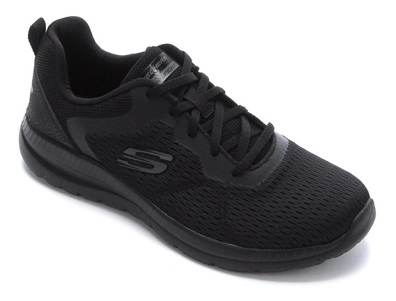 Tenis Feminino Skechers Bountiful Quick Path Black R-12607