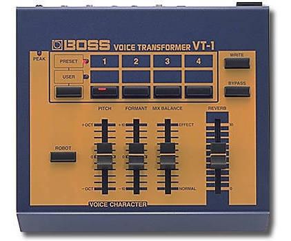 Efectos De Audio Boss Vt-1 Voice Consolapara Crear Efectos