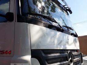 Mb Axor 2544 - 07/07- Cavalo Truck, Cabine Leito, Teto Baixo