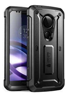 Funda Protector Rudo Con Mica Moto G6 Play Supcase Ubpro