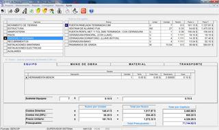 Software Programa Análisis Precios Unitarios Ares - Apus