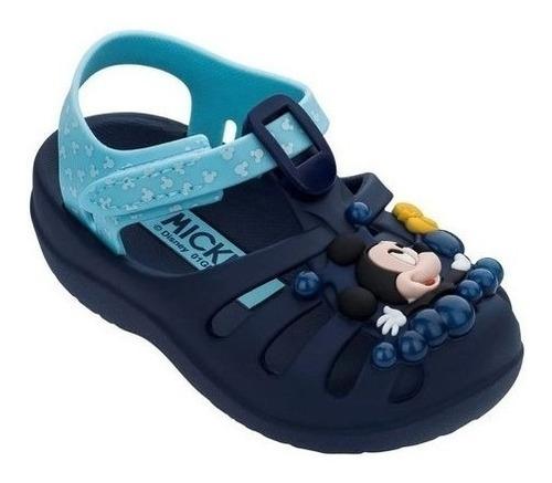 Sandália Infantil Masculino Grendene Mickey E Pluto Promoção