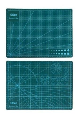 Imagen 1 de 6 de Verde Tablero De Lámina Perimétrica De Doble Cara A3 Durable