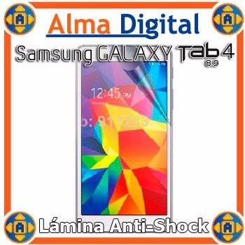 Lamina Protector Pantalla Antigolpe Samsung Tab4 8 Pulgadas
