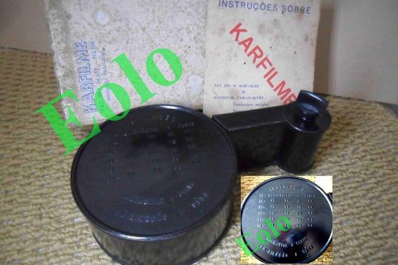 Rebobinador P/ Filmes 35mm - Karfilme - Completo C/ Manual
