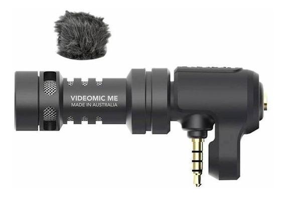 Microfone Rode VideoMic Me condensador cardióide preto