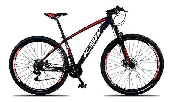 Bicicleta Xlt Aro 29 Quadro 19 Alumínio 21 Marchas Suspensão