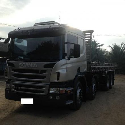 Scania P310 Carroceria Bitruck Completa 2012