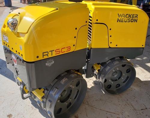 Rolo Compactador Wacker Neuson Rt-sc3 Controle Remoto - Zero