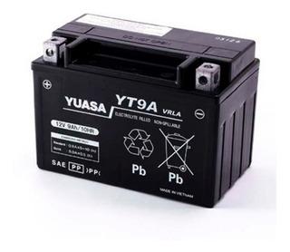 Baterias Moto Gel Yuasa Yt9a = Ytx9-bs Solomototeam